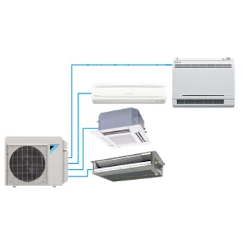 Daikin Multi Zone 2 3 or 4 zones