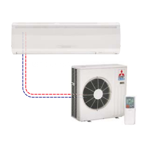 Mr Slim Single Ductless Split MSZ-D30NA