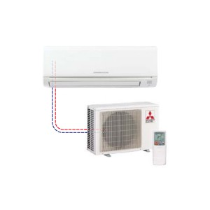 Mr Slim Single Ductless Split MSZ-GE09NA