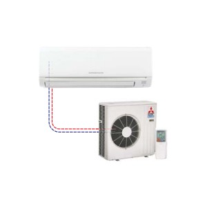 Mr Slim Single Ductless Split MSZ-GE18NA