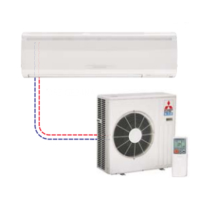 Mr Slim Single Ductless Split MSZ-GE24NA